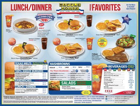 the waffle house waffle house lunch dinner menu outh land tale pinterest waffle house menu