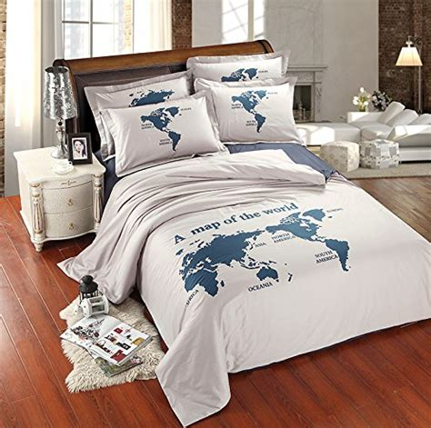 world map bedding bella vida by letty
