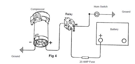 wiring diagram for air horns 12 volt replacement wiring