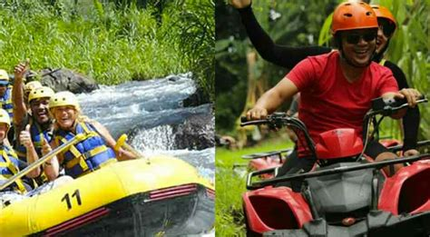 bali white water rafting  atv ride package bali atv