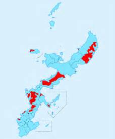 japan map us navy bases japanese activists succeed in expelling half of u s