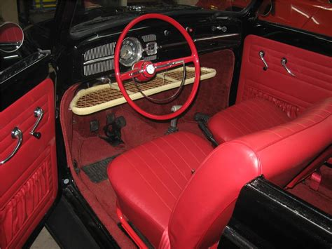 volkswagen beetle modified interior 1961 volkswagen beetle custom convertible 97033