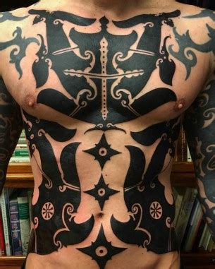 borneo tattoo design meanings blackwork tattoos best ideas gallery part 2