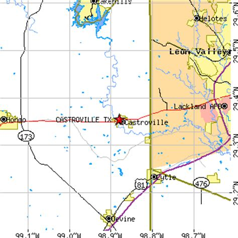 map of castroville texas castroville texas tx population data races housing economy