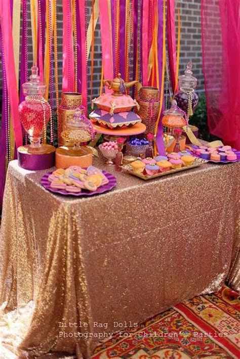 marissas birthday  arabian nights themed party   beautiful moroccan feel  sweet