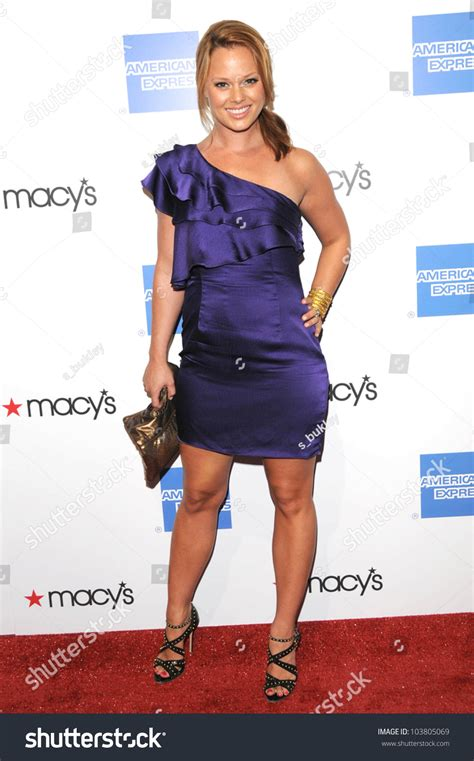 Bolby Dress april bowlby at the macy s passport 2009 fashion show