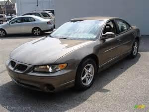 2001 Pontiac Grand Prix Sedan 2001 Bronzemist Metallic Pontiac Grand Prix Gt Sedan