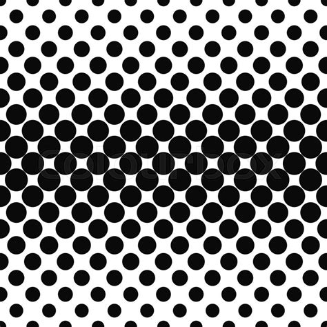 Dot Pattern by Repeating Black And White Dot Pattern Background Stock
