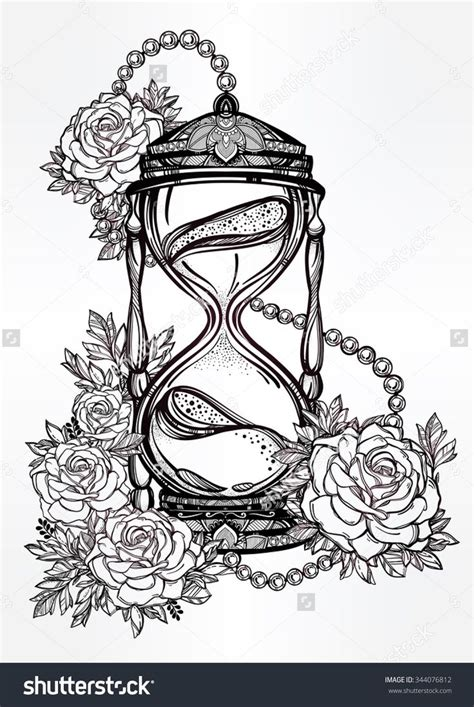 hand drawn tattoo designs 25 best ideas about hourglass drawing on