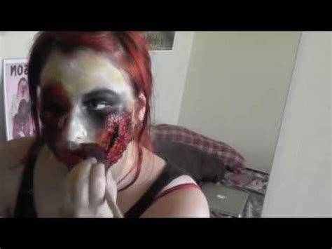 zombie tutorial youtube easy zombie makeup tutorial youtube