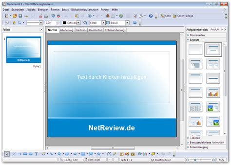 Open Office Powerpoint by Openoffice Org Unter Windows 7 187 Base Calc Draw Impress