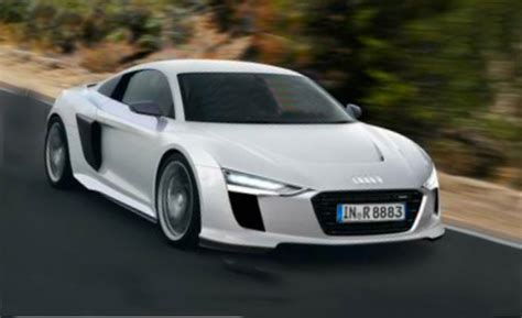 New Audi R8 by Here The New Audi R8 Is