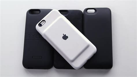 review apples iphone  smart battery case
