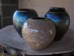 Decorative Clay Pots Raku Pottery Flickr Photo Sharing