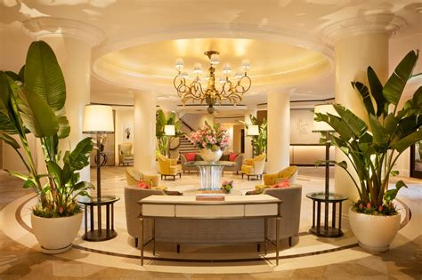 tropical modern d 233 cor at the beverly hills hotel