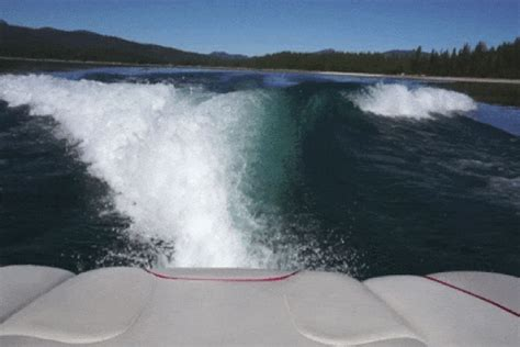 boat wake gif wakesurf gifs find share on giphy