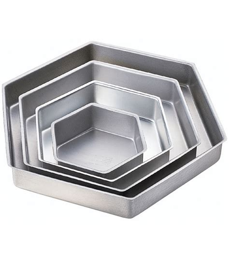 hexagon cake pans wilton performance pans hexagon cake