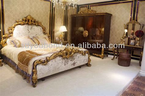 0063 2014 italy design wooden carving royal home furniture