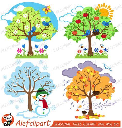 libro tree seasons come seasons tree seasons clipart 21
