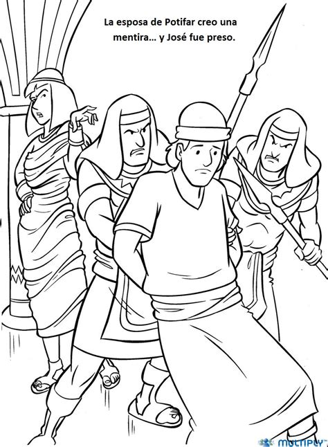 coloring page of joseph and potiphar joseph and potiphar coloring page sketch coloring page