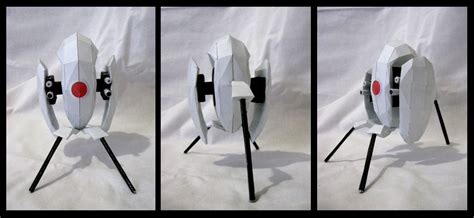 Portal Turret Papercraft - portal turret by makenxxx on deviantart