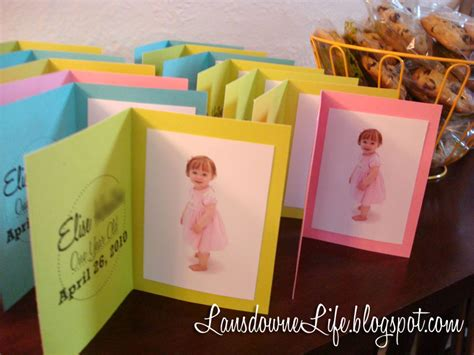 1st Birthday Party Giveaways - first birthday party the favors lansdowne life