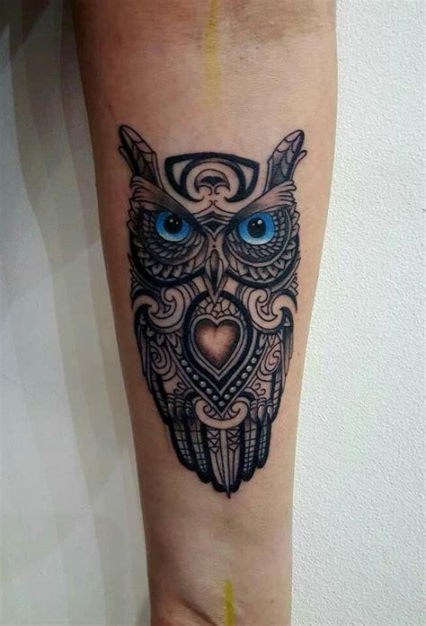 owl tattoo representation tribal owl dan ball new ink tattoo tattoos