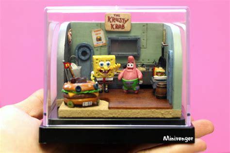 krusty krab kitchen diorama by minivenger on deviantart