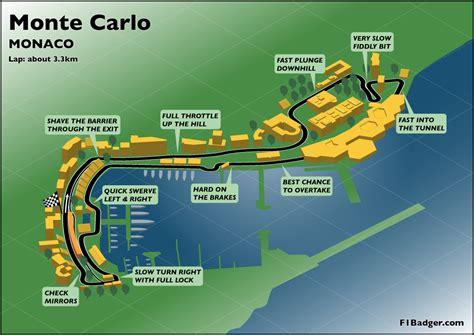 map of monte carlo monte carlo grand prix track map mappery