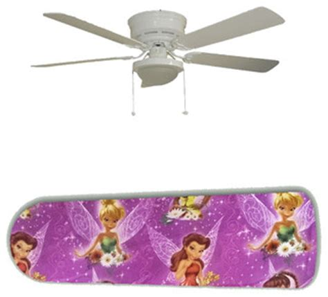 tinkerbell pixie hollow friends 52 quot ceiling fan and l