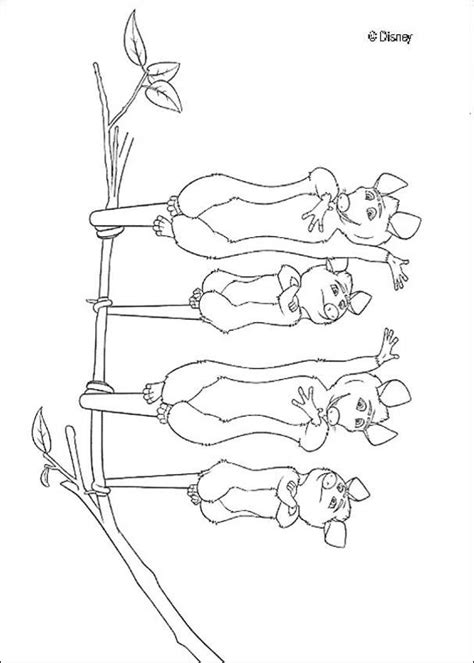 over the hedge coloring book pages opossum family