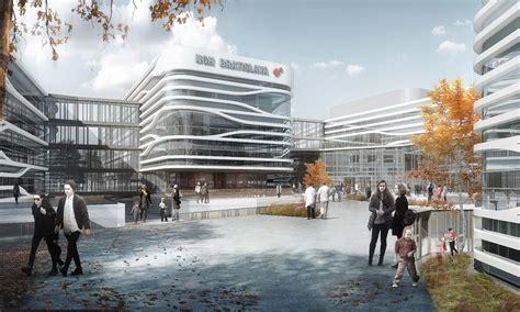 Architecture Designs dutch hospital design fully integrated hospital designs