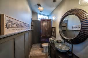 modern studio industrial bathroom other metro