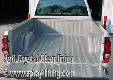 clear spray on bed liner and auto protection ebay