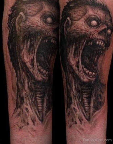 zombie tattoo gallery zombie tattoos tattoo designs tattoo pictures page 7