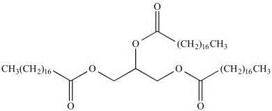 illustrated glossary  organic chemistry triglyceride