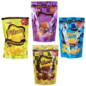 Richeese Ahh Cheese 5 5 Gr oishi pillows citra sukses international