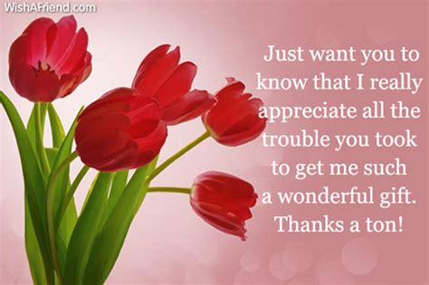 thank you for gifts thanks for the gifts quotes quotesgram