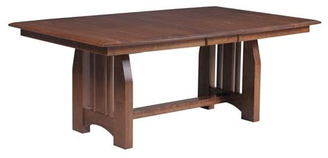 craftsman dining room table mission dining room trestle table craftsman dining