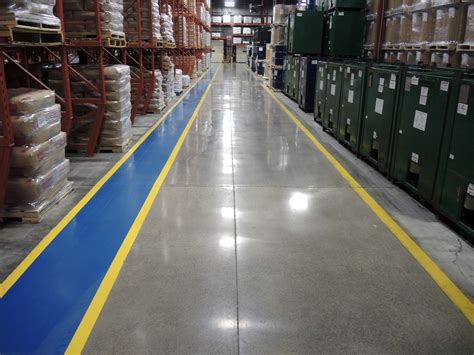 industrial floor painting factory safety lines ttm