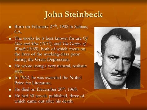 john steinbeck biography lesson plan 17 best images about of mice and men context on pinterest