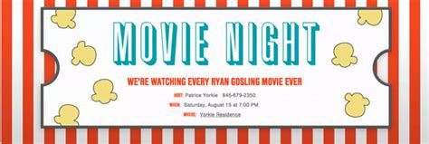 Backyard Dinner Party Ideas Movie And Tv Night Party Guide Evite