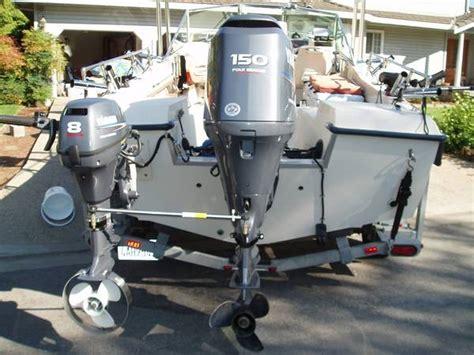 tracker boats kicker motor how would you mount a kicker www ifish net
