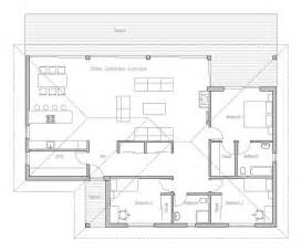 Small Single Story House Plans by Small House Plan In Modern Architecture Open Planning