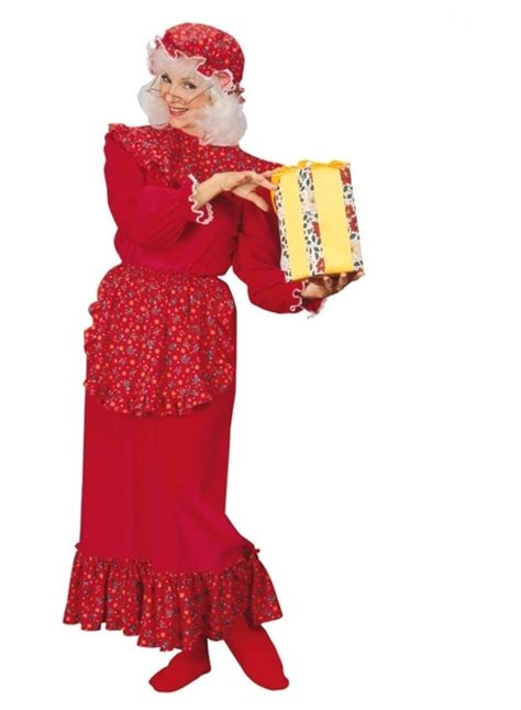 mrs claus shop joondalup prices traditional mrs claus ruffle costume the costume shoppe