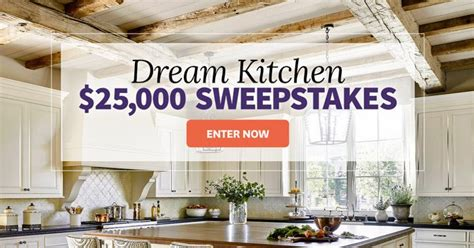 Dream Kitchen Sweepstakes - bhg dream kitchen 25 000 sweepstakes bhg com 25kfall