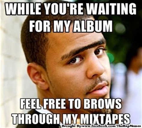 Cole Meme - j cole brows killerhiphop com