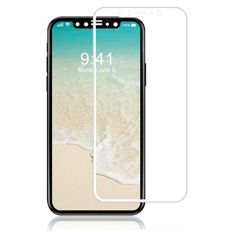luvvitt iphone xs x luvvitt tempered glass screen protector friendly compatible for