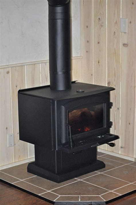 wood stove for heating our small house 840 sf