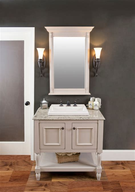 The Elegant Bath Collection Featuring Larissa From Our Traditional Bathroom Furniture